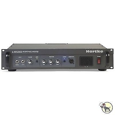 hartke lh500 500 watt bass guitar amplifier head class a tube reverb. Black Bedroom Furniture Sets. Home Design Ideas