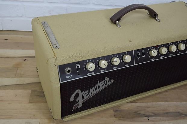 fender tone master custom tube guitar amp head excellent used reverb. Black Bedroom Furniture Sets. Home Design Ideas