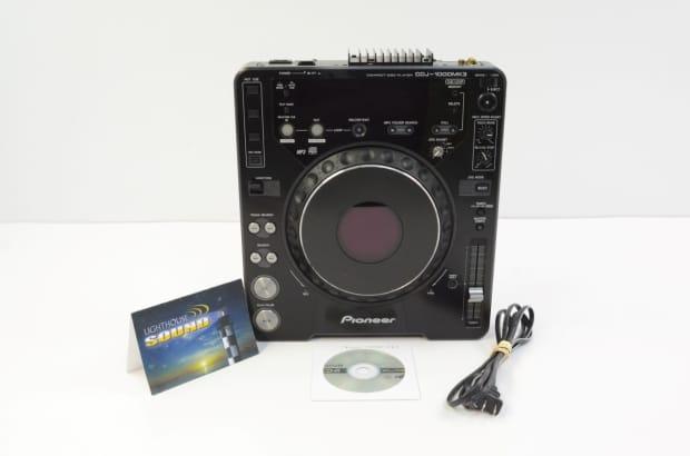pioneer cdj 1000 mk3 professional dj cd mp3 player reverb. Black Bedroom Furniture Sets. Home Design Ideas