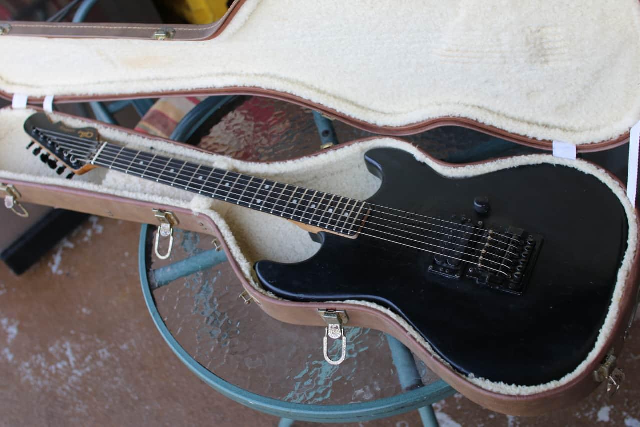 g l rampage 1986 black electric guitar usa reverb. Black Bedroom Furniture Sets. Home Design Ideas