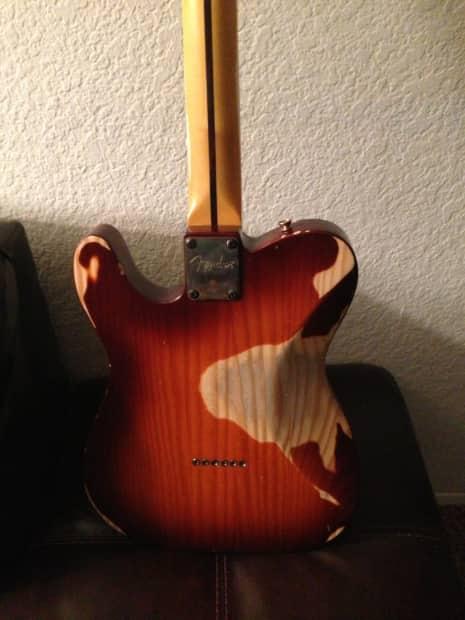 Fender Relic Tv Jones Pine Telecaster 2013 Reverb