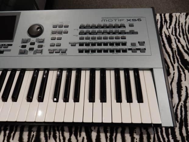 Yamaha motif xs6 music production synthesizer workstation for Yamaha motif xs8 specs