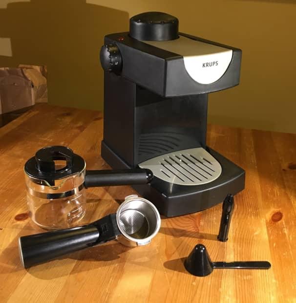 how to use krups steam espresso machine