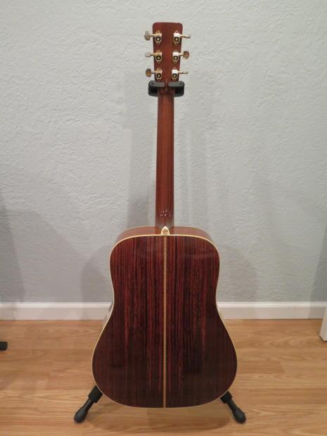 rare 1976 tama 3566 acoustic guitar lawsuit martin d 41 reverb. Black Bedroom Furniture Sets. Home Design Ideas