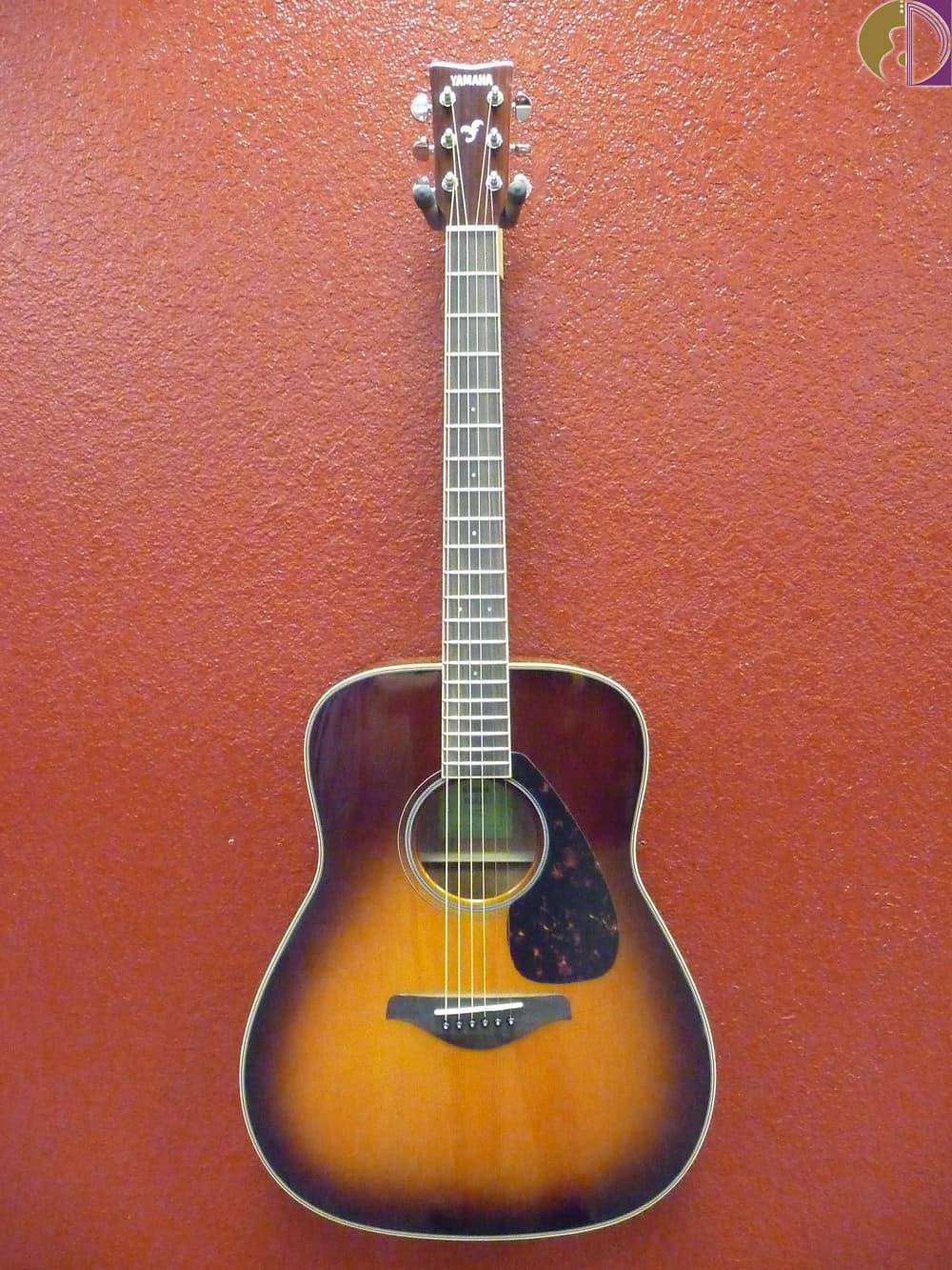 Yamaha fg820 dreadnought acoustic guitar brown sunburst for Yamaha fg820 review