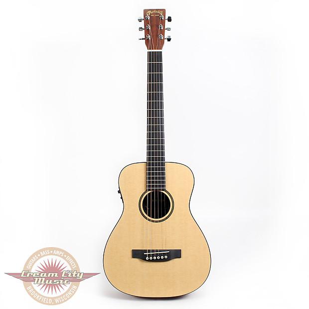 martin lxme acoustic electric travel guitar natural reverb. Black Bedroom Furniture Sets. Home Design Ideas
