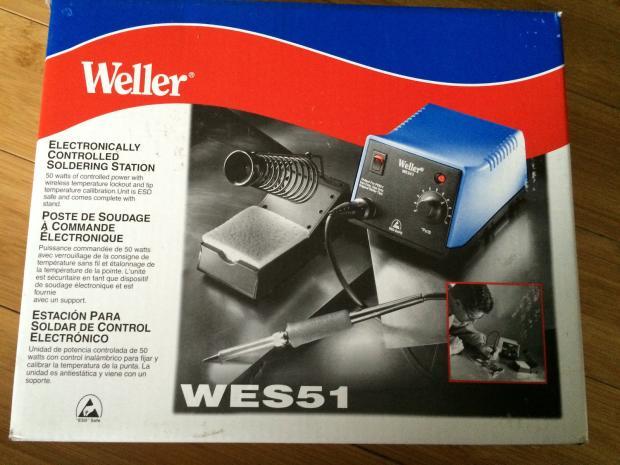 weller wes51 soldering station manual