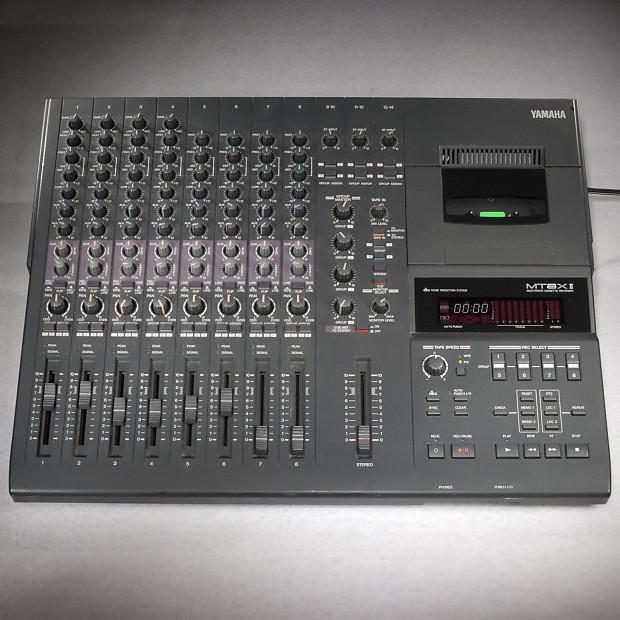 yamaha mt8x ii multi track recorder cassette 8 track with pha reverb. Black Bedroom Furniture Sets. Home Design Ideas