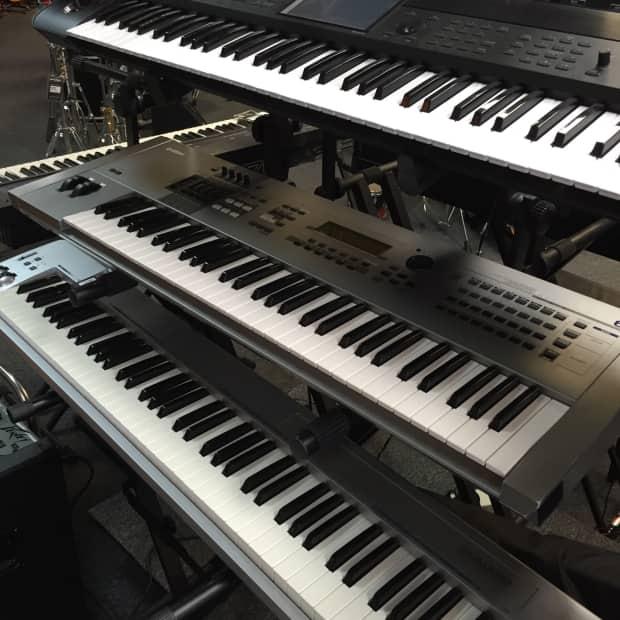 Yamaha motif 6 synthesizer keyboard 100 functional reverb for Yamaha motif keyboard