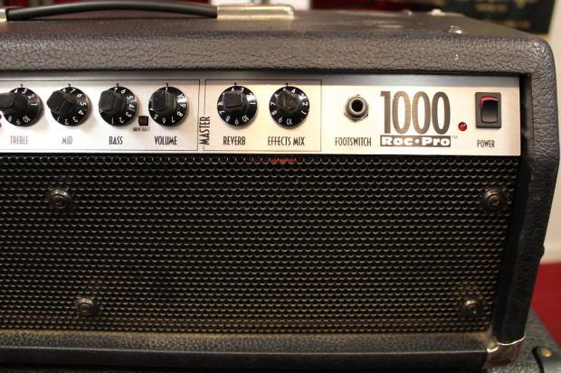 1993 fender roc pro 1000 tube driven hybrid 100 watt guitar amplifier head reverb. Black Bedroom Furniture Sets. Home Design Ideas