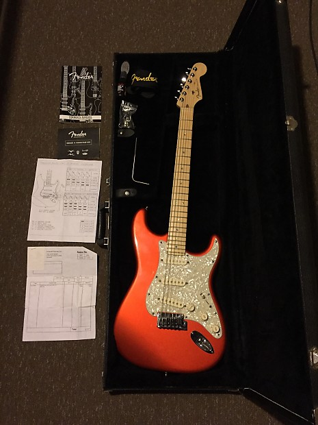 2005 Fender American Deluxe Stratocaster Reverb