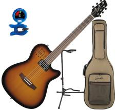 Godin A6 Ultra Semi-Acoustic Thinline Guitar Bundle image