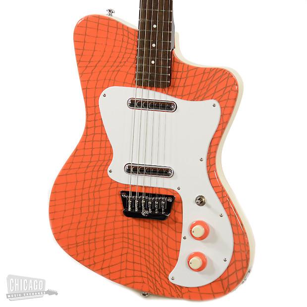 danelectro 39 67 heaven hawk guitar orange alligator reverb. Black Bedroom Furniture Sets. Home Design Ideas