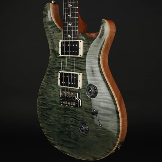 prs custom 24 in trampas green with pattern thin neck 85 15 reverb. Black Bedroom Furniture Sets. Home Design Ideas
