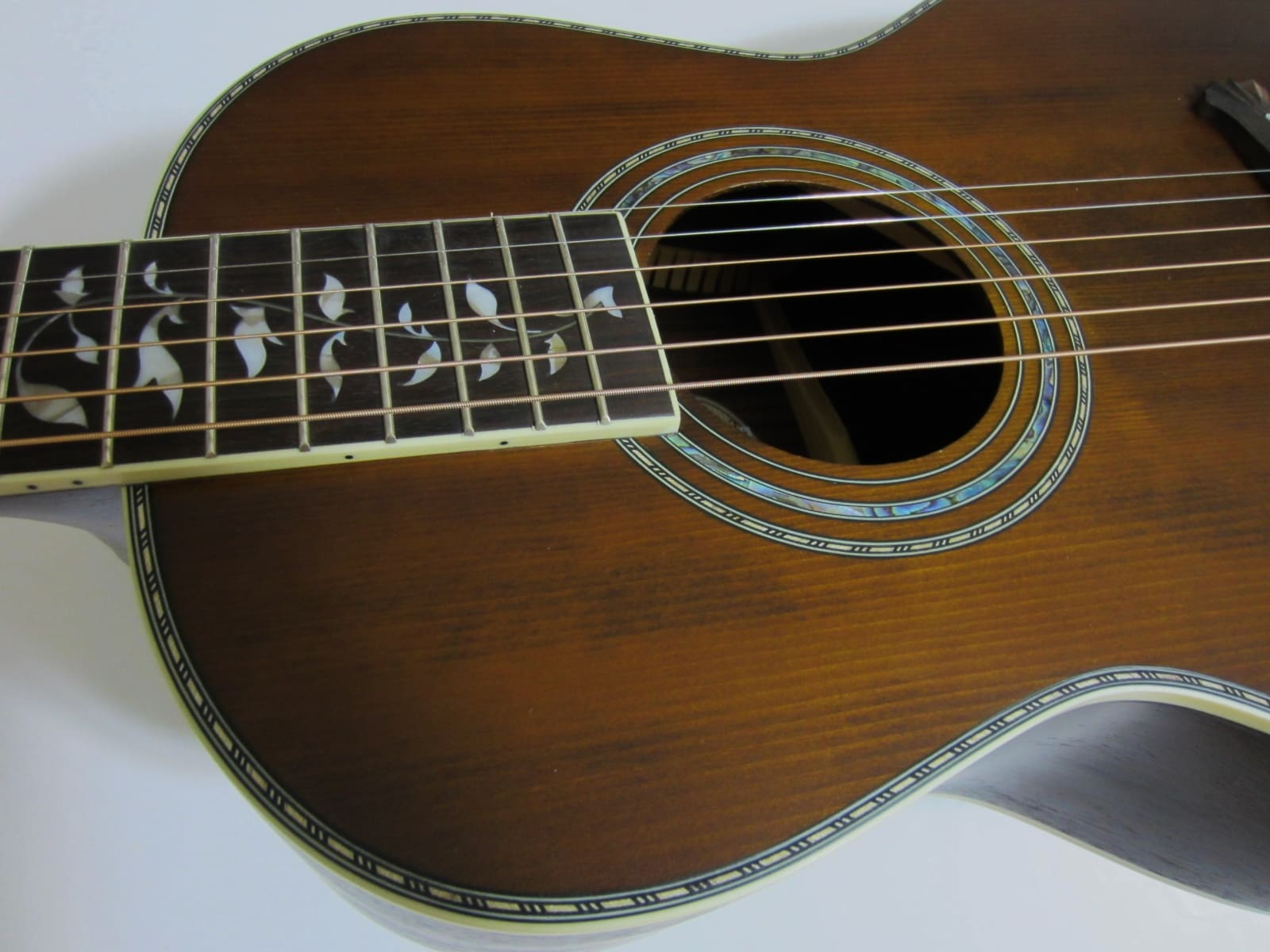 vintage Washburn guitars re-issue parlor