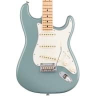 <p>Fender American Pro Stratocaster Electric Guitar, Maple Fingerboard (with Case), Sonic Gray</p>  for sale