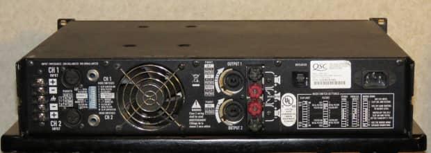 qsc rmx 1450 1400 watt stereo power amplifier reverb. Black Bedroom Furniture Sets. Home Design Ideas