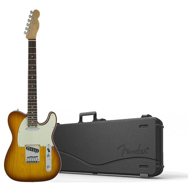 fender 0114210752 american elite telecaster with hard case reverb. Black Bedroom Furniture Sets. Home Design Ideas