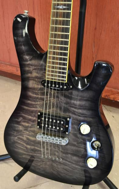 schecter diamond series 006 elite 6 string electric guitar reverb. Black Bedroom Furniture Sets. Home Design Ideas