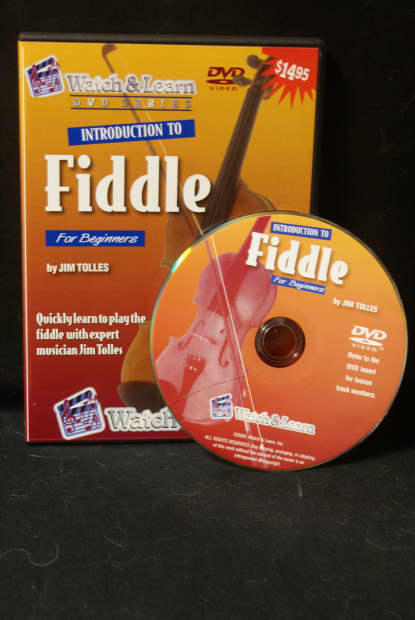 Watch & Learn Introduction To Fiddle DVD For Absolute