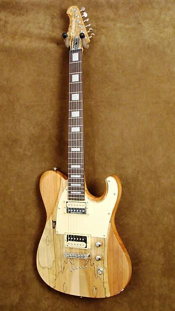 Diamond Maverick Sm Elec Guitar In Spalted Satin Natural