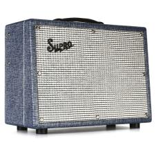 Supro 1622RT Tremo-Verb 1x10 25 Watts Vintage Reissue American Class-A All Tube Combo Amp image