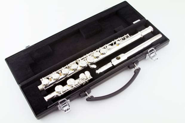Certified pre owned yamaha standard flute yfl 221 reverb for Yamaha yfl 221 student flute
