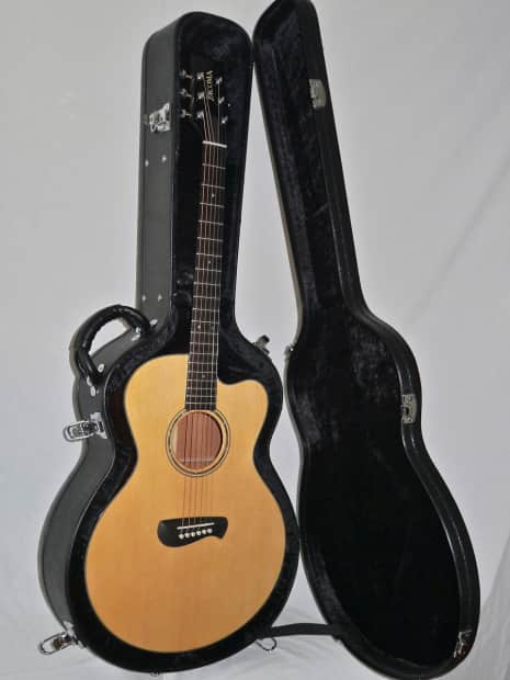 Tacoma EM14C Acoustic Guitar with Case MADE IN USA | Reverb