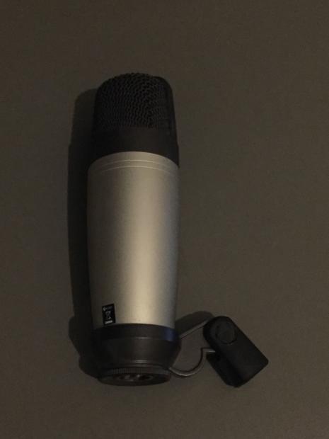 used samson c01 condenser microphone w clip for studio reverb. Black Bedroom Furniture Sets. Home Design Ideas