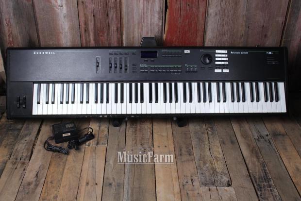 kurzweil pc88mx 88 weighted key digital piano midi controller reverb. Black Bedroom Furniture Sets. Home Design Ideas