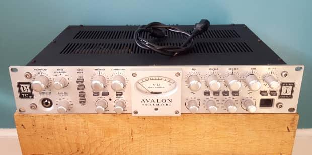 avalon vt 737sp vacuum tube recording system tube pre amp reverb. Black Bedroom Furniture Sets. Home Design Ideas