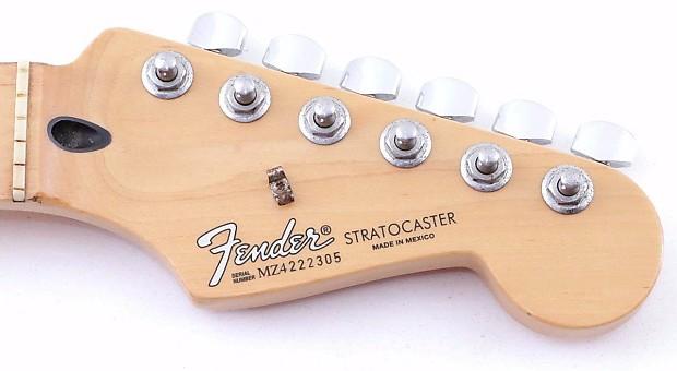 2004 fender mexico standard stratocaster guitar neck w reverb. Black Bedroom Furniture Sets. Home Design Ideas