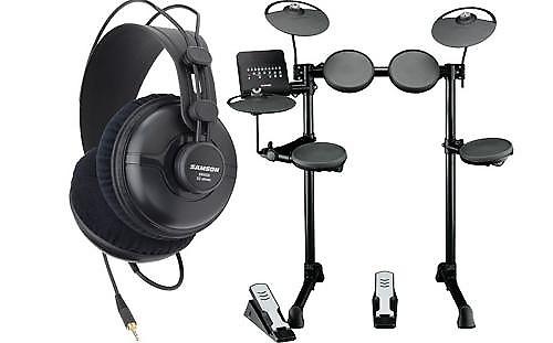 Yamaha dtx400k 5 piece electronic drum kit and sr950 reverb for Yamaha dtx450k 5 piece electronic drum kit