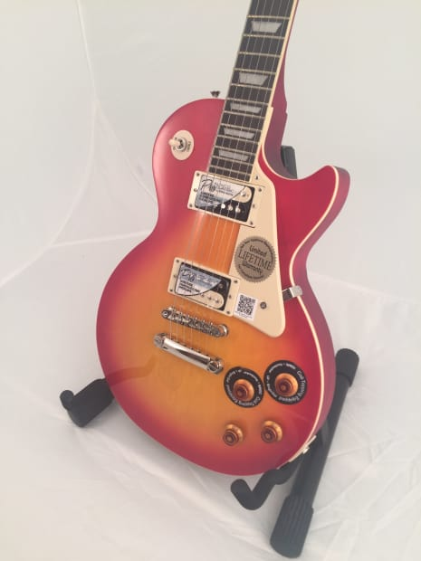 epiphone limited edition les paul traditional pro heritage reverb. Black Bedroom Furniture Sets. Home Design Ideas