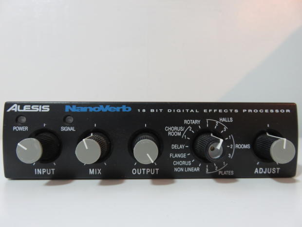 alesis nanoverb 18 bit digital effects processor with original power supply clean reverb. Black Bedroom Furniture Sets. Home Design Ideas