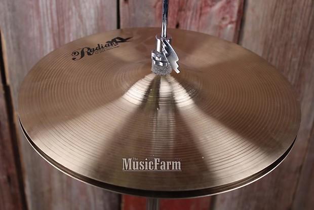 radian xl 13 inch jazz hi hat drum cymbal pair b20 alloy reverb. Black Bedroom Furniture Sets. Home Design Ideas