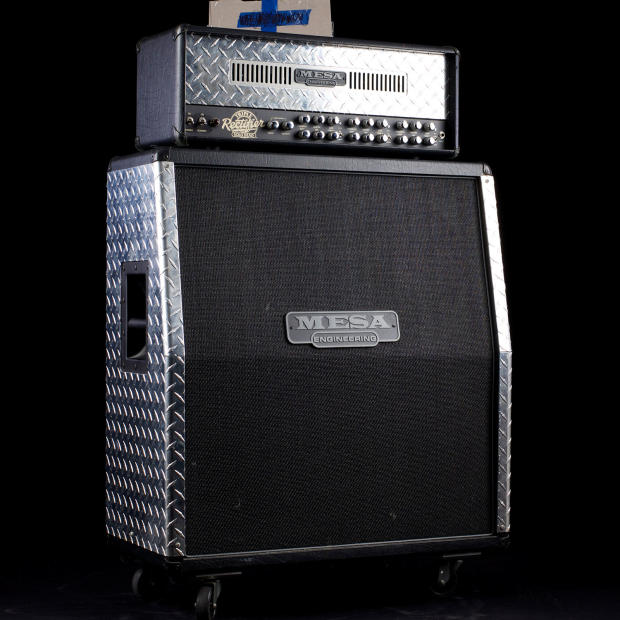 Used Mesa Boogie Triple Rectifier Solo Head And Matching