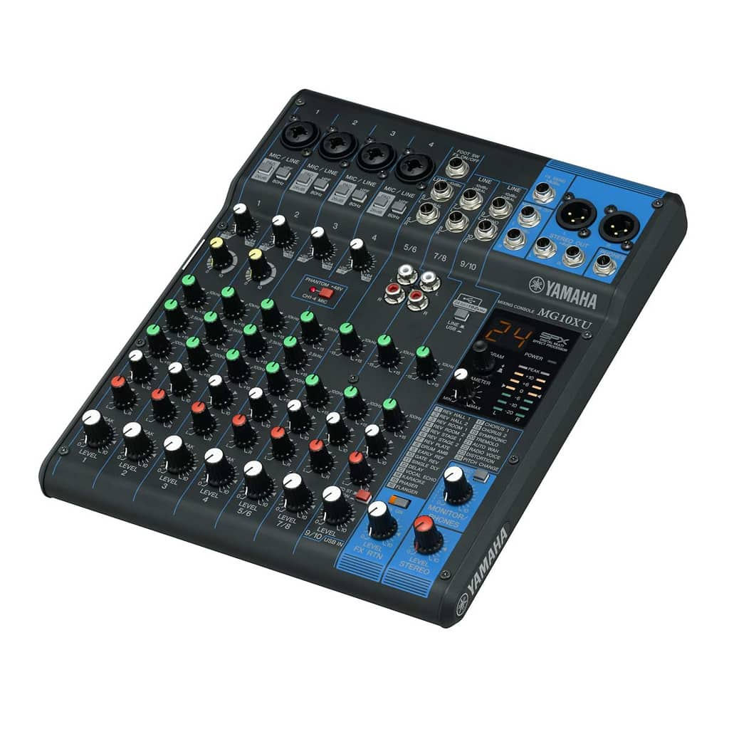 Yamaha mg10xu analog mixer with usb output reverb for Yamaha mg10xu review