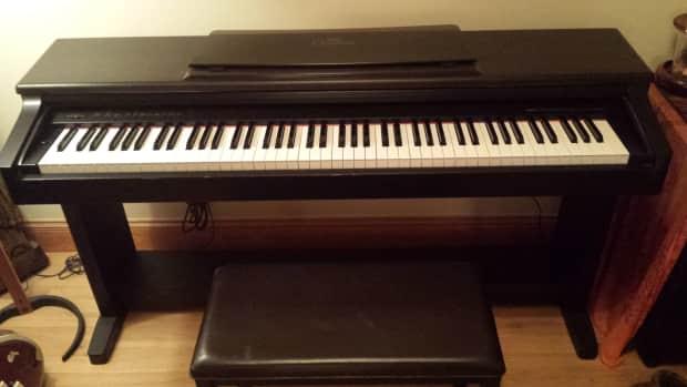 Yamaha clavinova clp 123 dark brown reverb for Yamaha clavinova clp 123 price