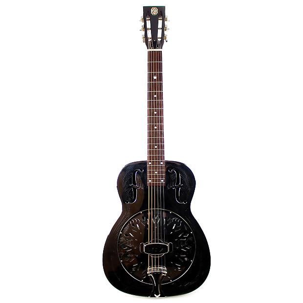 used republic metal body resonator acoustic guitar reverb. Black Bedroom Furniture Sets. Home Design Ideas