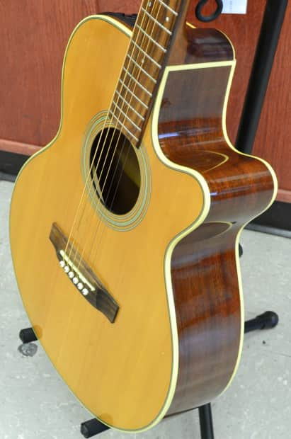 takamine g series eg260c 6 string acoustic electric guitar reverb. Black Bedroom Furniture Sets. Home Design Ideas