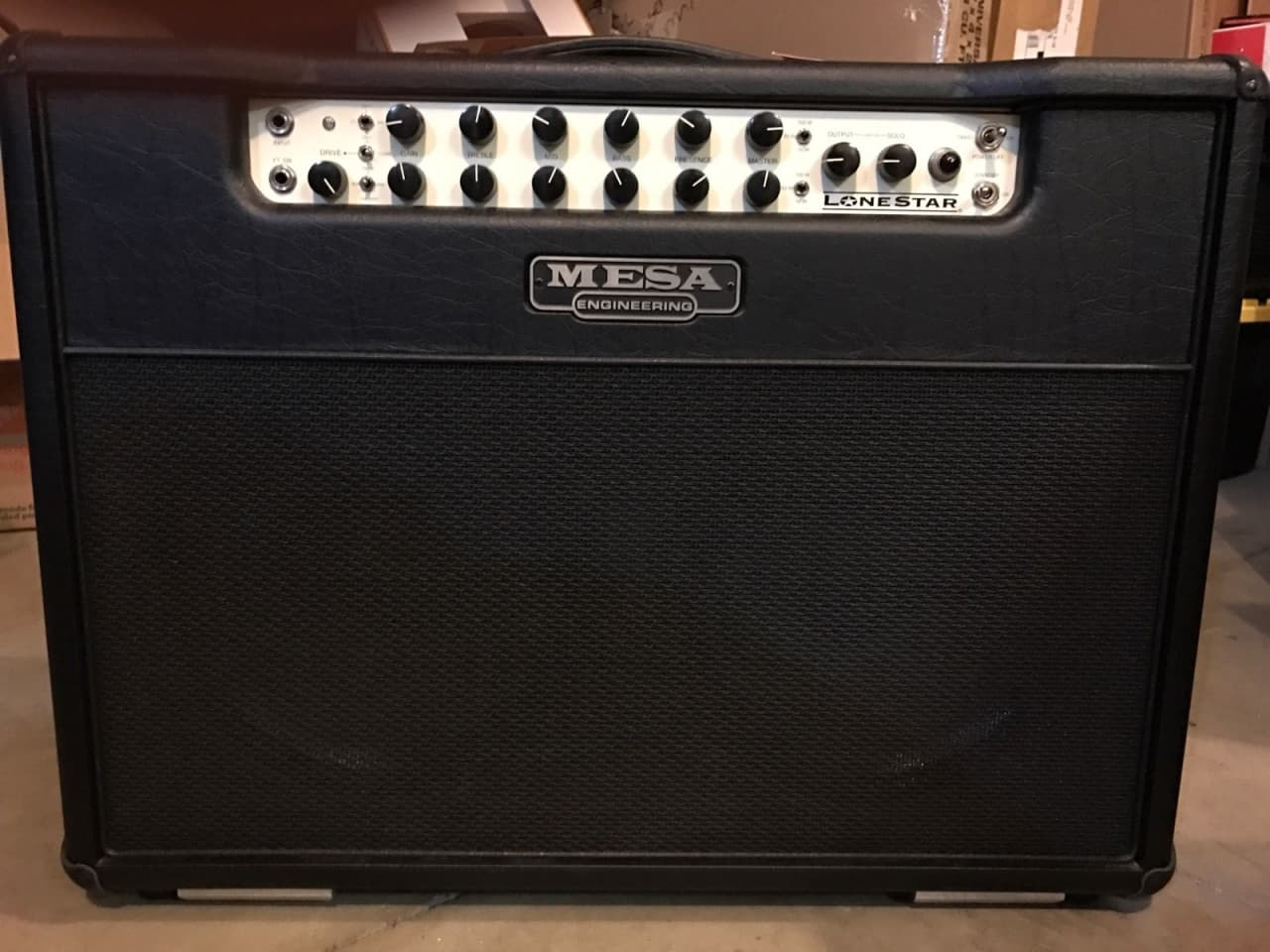 Mesa boogie lone star 2x12 100w excellent condition for Mesa boogie lonestar 2x12
