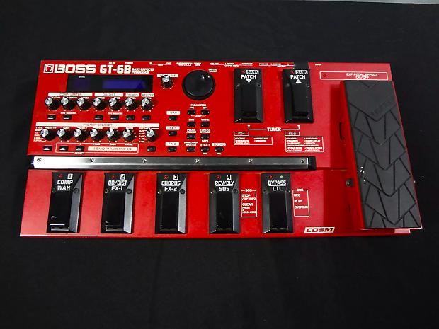 boss gt 6b bass effects processor reverb. Black Bedroom Furniture Sets. Home Design Ideas