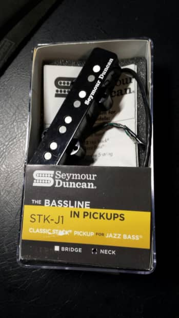 seymour duncan stk j1 classic stack jazz bass pickup neck reverb. Black Bedroom Furniture Sets. Home Design Ideas