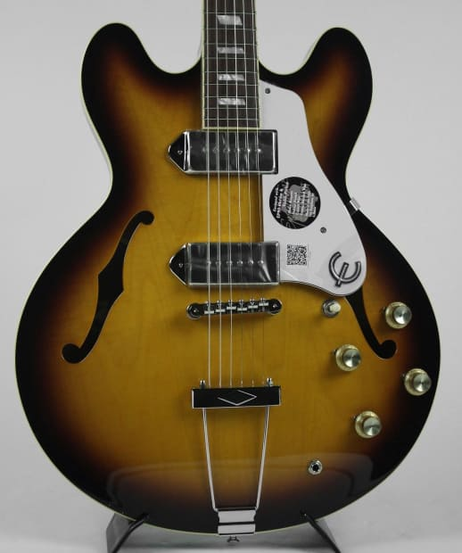 used epiphone elitist casino w ohsc in great shape barely reverb. Black Bedroom Furniture Sets. Home Design Ideas