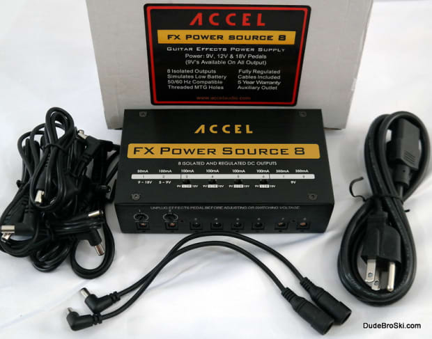 accel power source 8 isolated regulated power supply reverb. Black Bedroom Furniture Sets. Home Design Ideas