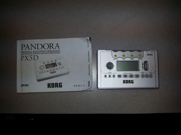 Korg px5d pandora manual