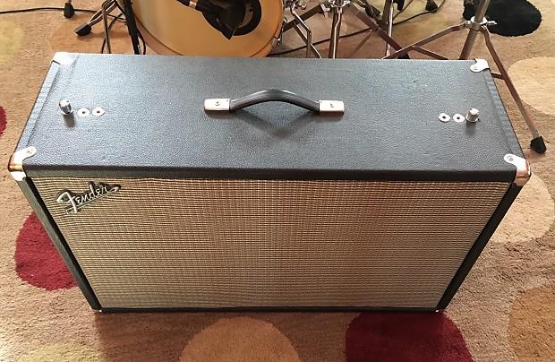 Fender Repro Bandmaster 2x12 Speaker Cabinet Blackface
