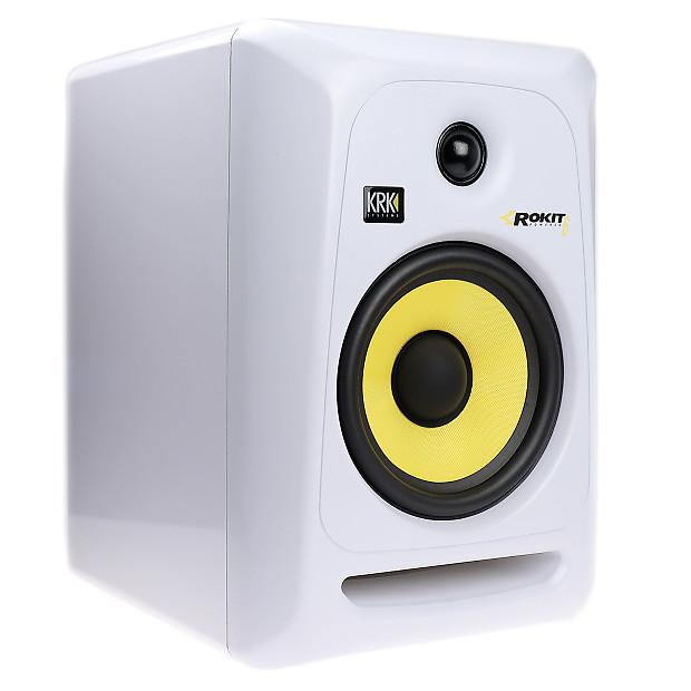 krk rokit g3 6 studio monitor white finish reverb. Black Bedroom Furniture Sets. Home Design Ideas
