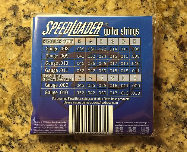 how to change speedloader guitar strings